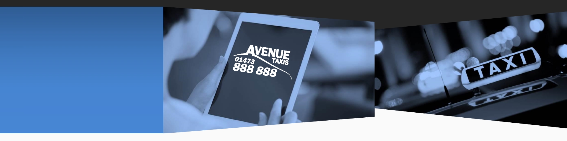 Book a Taxi online with Avenue Taxis, Ipswich
